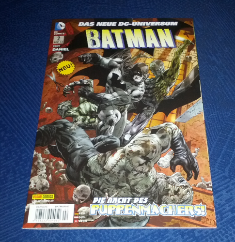 Batman Detective Comics #2: Kaltbluetig / Das Hauptereignis