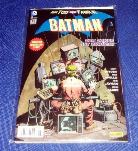 Batman #015: Unnatuerliche Auslese / Maenner des Glaubens / Unter der Erde