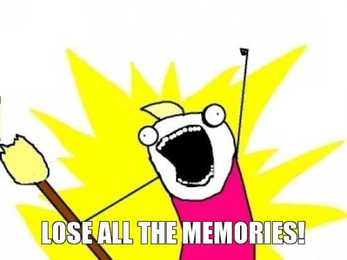 lose-all-the-memories
