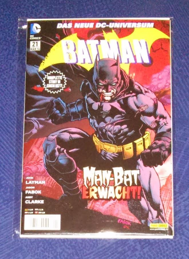 Batman #021: 900 / Man-Bat in: Geburt einer Familie / Gotham Cops in: Im Schatten des Blaulichts