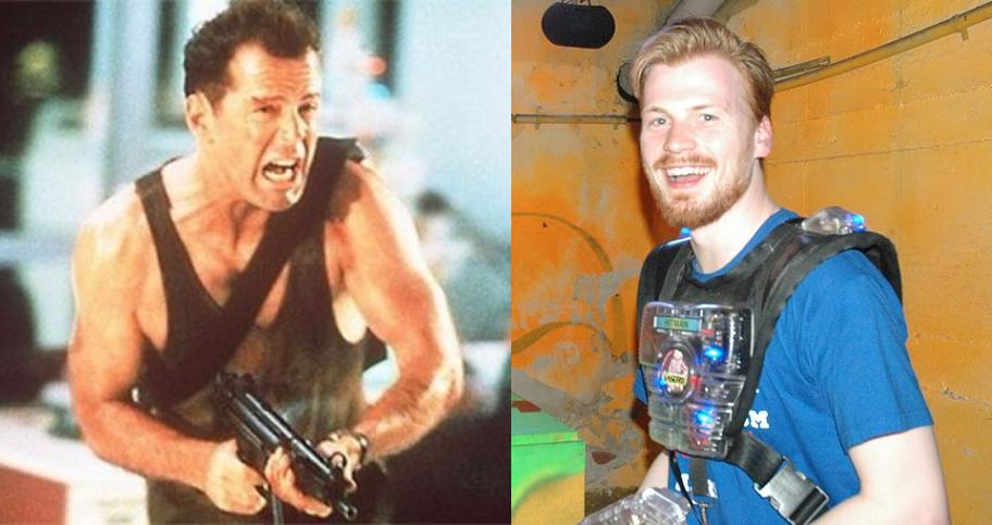 Lasertag – 'Die Hard' für Normalsterbliche