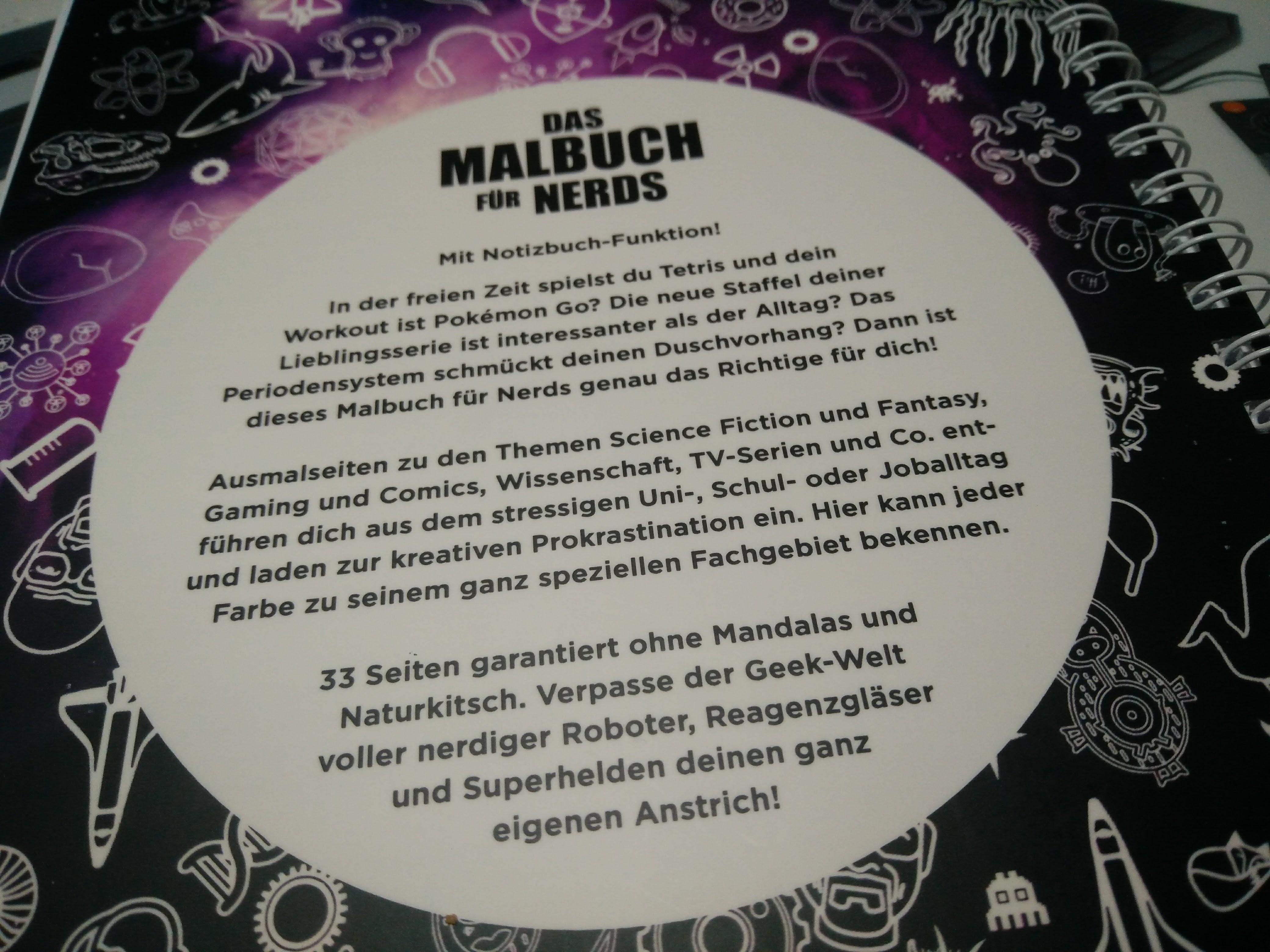 Ausgemalt] Das Nerdmalbuch – OMGWTFBBQ1337.de