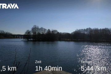 Jog around the blog [189]: Heikel Sonnenschein am Obersee