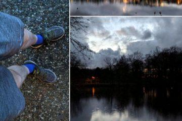 Jog around the blog [272]: Kurze Hose und Schneeregen