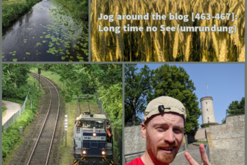 Jog around the blog [463-467]: Long time no See(umrundung)